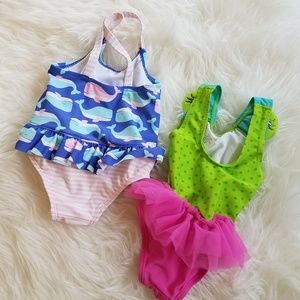 Carter's Swim - Carter's Baby Girl Swimsuits 12 Months